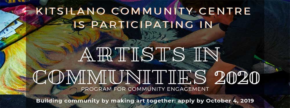 Artists in Communities 2020 Project
