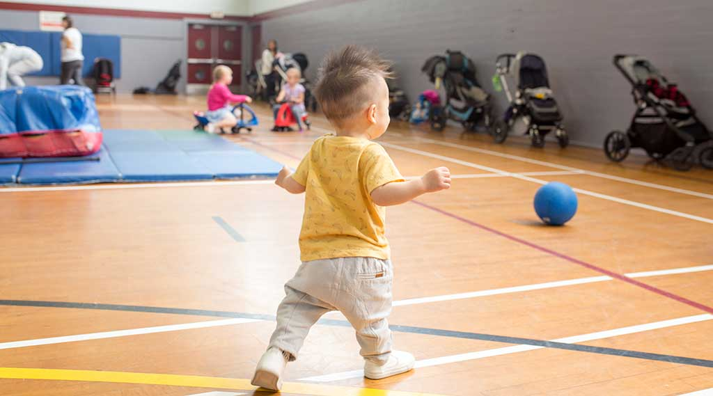 Parent & Tot Gym is Back!