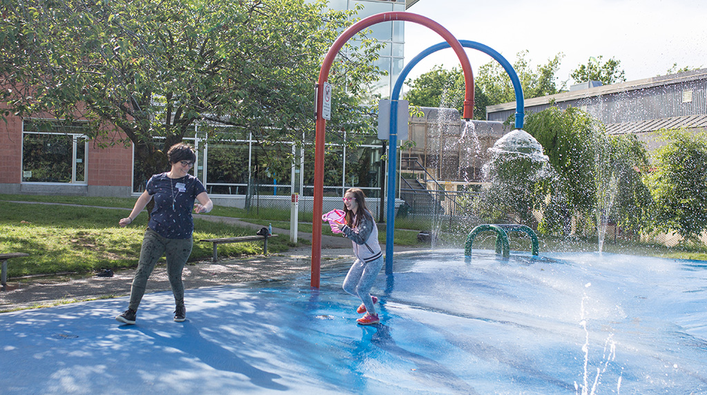 Splash Park Now Open