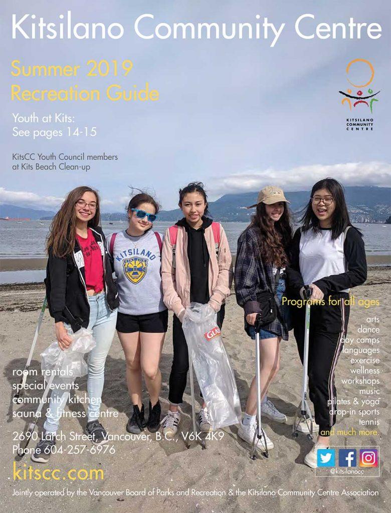 Kitsilano Community Centre Summer 2019 Recreation Guide