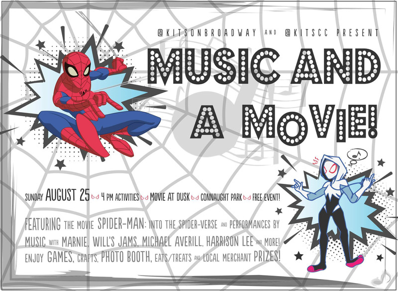 "Movie in the Park Sunday, August 25 5:00 PM-10:00 PM    Our annual outdoor movie event is back! Come join us for another fun evening of bouncy castles, arts and crafts, popcorn, live music and other activities for all ages. Once the sun sets, it is show time! The movie for this year is ""Spider-Man - Into the Spider-Verse.""  Don't miss out on this popular free outdoor event."