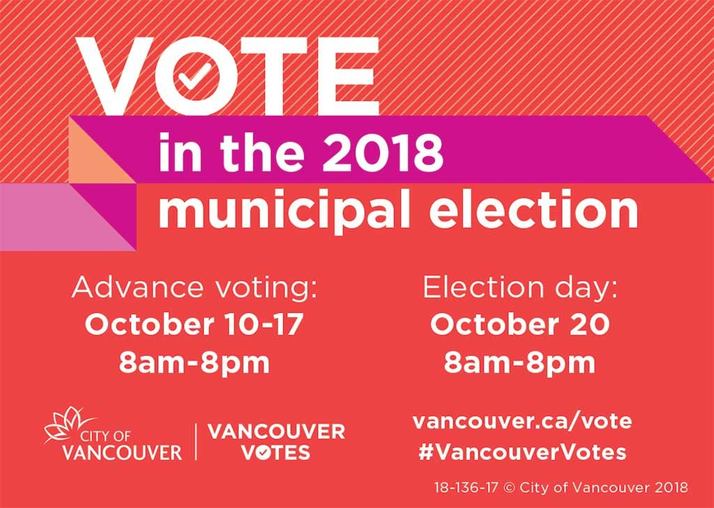 Vote in the 2018 municipal election