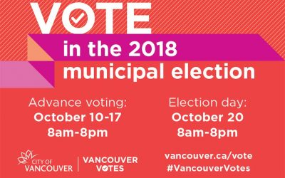 Vote in the 2018 Municipal Election in October